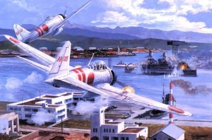 Útok na Pearl Harbor Američany zaskočí.