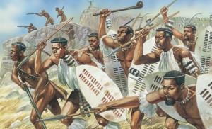 Šaka a jeho Zuluové ovládnou velký kus jihovýchodní Afriky.
