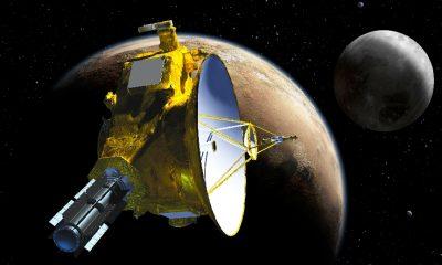 Nejrychlejší sonda v dějinách listva - New Horizons