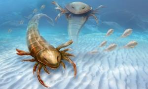 Vodní škorpion dosahoval délky až 1,7 metru.