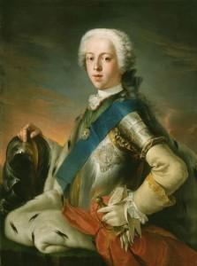 Karel Eduard Suart řečený Bonnie Prince Charlie.