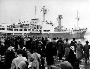 Hans Hedtoft vyplouvá 7. ledna 1959 na svou první a poslední plavbu.