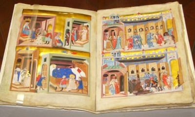Latinský fragment Dalimilovy kroniky zakoupený Národní knihovnou v Paříži je bohatě ilustrovaný.