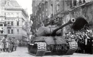 V rámci sovětských vojsk dorazily do Československa i jednotky SMERŠ.