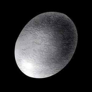 Vesmírná šiška – planetka Haumea.