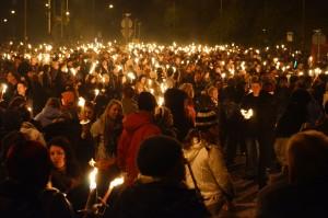 V Edinburghu se v tento ohnivý den sejdou davy místních i turistů.