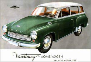 V roce 1962 začne Wartburg vyrábět i variantu kombi.