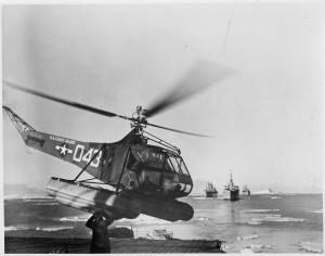Velkou část materiálu přepravily vrtulníky z palub ledoborců. Pravý účel výpravy je však dodnes utajen.