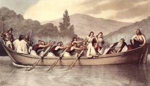 Jeho oblíbenou kratochvílí prý byly kromě stínání hlav projížďky po jezeře.