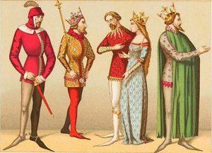 Středověk přeje dlouhým špičkám. V některých zemích určuje jejich délku zákon.