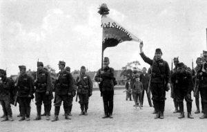 Základem vznikající československé armády byli především legionáři.