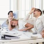 V dobrém pracovním kolektivu se stres odbourává