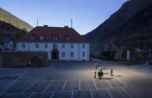 """Sluneční """"skvrnu"""" na náměstí je možno zvětšit až na 600 m2."""