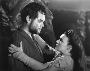 Orson Welles ve vlastní adaptaci Macbetha z roku 1948.