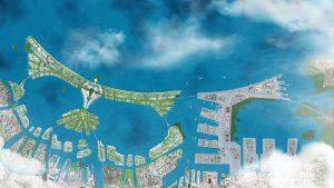 Obří hráz ve tvaru bájného ptáka má být jedním z největších v historii Indonésie.