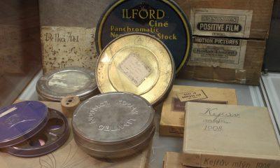 Filmový materiál z počátků dějin filmu.
