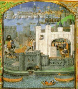 Tower byl původně královskou rezidencí, ale od 16. století sloužil jako vězení.