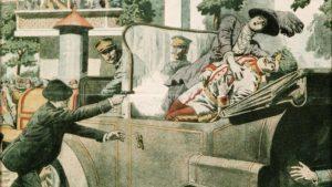 Při atentátu zahynula spolu s Františkem Ferdinandem i jeho těhotná manželka Žofie.