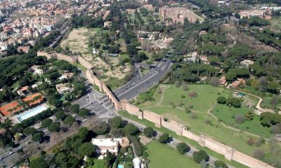 Aureliánské hradby chránily na 14 km2 téměř milion obyvatel.