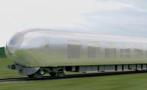 Koncept neviditelného vlaku