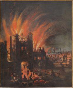 Velký požár Londýna řádil skoro čtyři dny a zničil velkou část města.