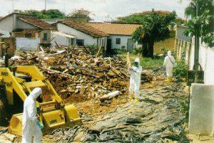 Domy kontaminované cesiem 137 musí být zbourány.