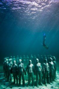 Kromě turistického lákadla mají sloužit i k regeneraci mořského dna.