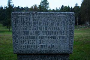Obec Ležáky po válce obnovena nebyla. Místo ní zůstalo pamětní místo.