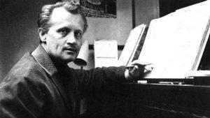 Hudební skladatel Jiří Šlitr se nikdy definitivně neusadil, s jednou ze svých milenek však zplodil dceru Dominiku.