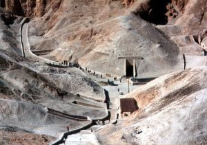 Údolí králů v Egyptě