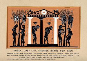 Starověcí Římané využívali s oblibou veřejné umývárny.