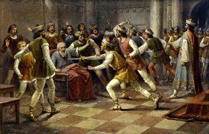 Krvavá řež na Libici aneb jak se bojovalo o český trůn…
