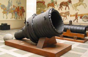 Obrovské dělo zhotovené pro habsburskou armádu dokázalo zasáhnout cíl na vzdálenost větší než půl kilometru!