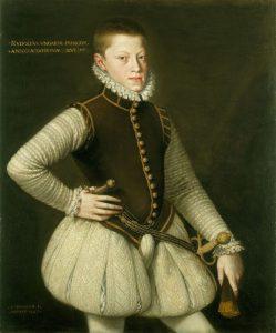 Mladý Rudolf II. se klidně mohl stát španělským králem.