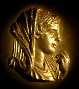 Makedonská královna byla prý velmi krásná.