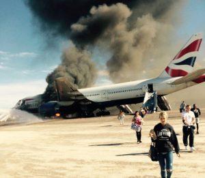 Podobná nehoda se udála v září 2015 na letišti v Las Vegas. Letadlu společnosti British Airways začal během příprav ke startu hořet jeden z motorů, což si vyžádalo okamžitou evakuaci.