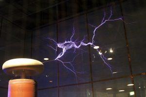 Teslův transformátor v Australském národním muzeu
