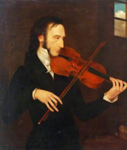 Zahrát 12 not za sekundu? Ani to prý nebyl pro italského houslistu Niccola Paganiniho problém!