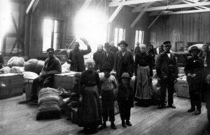 Fotografie z Muzea přistěhovalectví v americkém Baltimoru.