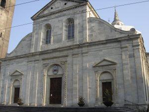 Turínská katedrála zasvěcená Janu Křtiteli, ve lteré plátno našlo svůj domov.