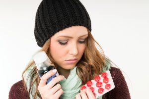Lehčí forma nemoci se podobá nachlazení