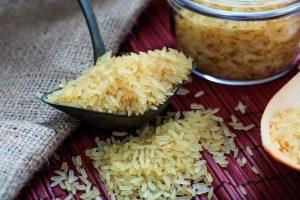 Parboiled rýže obshuje mnoho živin.