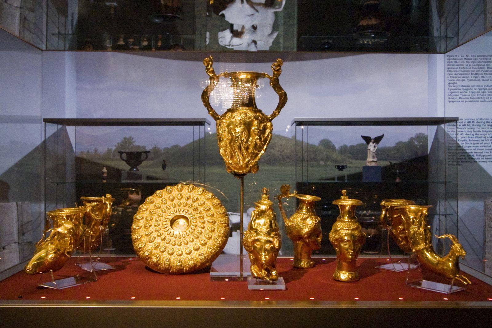 Sofia – Panagyurishte Thracian Gold Treasure