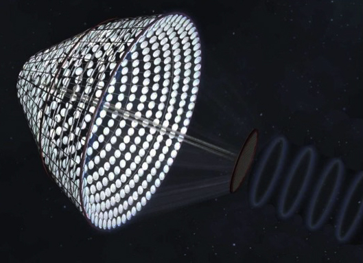 Koncept uvažuje o elektrárnách, které by byly schopné na Zemi z vesmíru bezdrátově přenést energii v řádech tisíců megawattů.