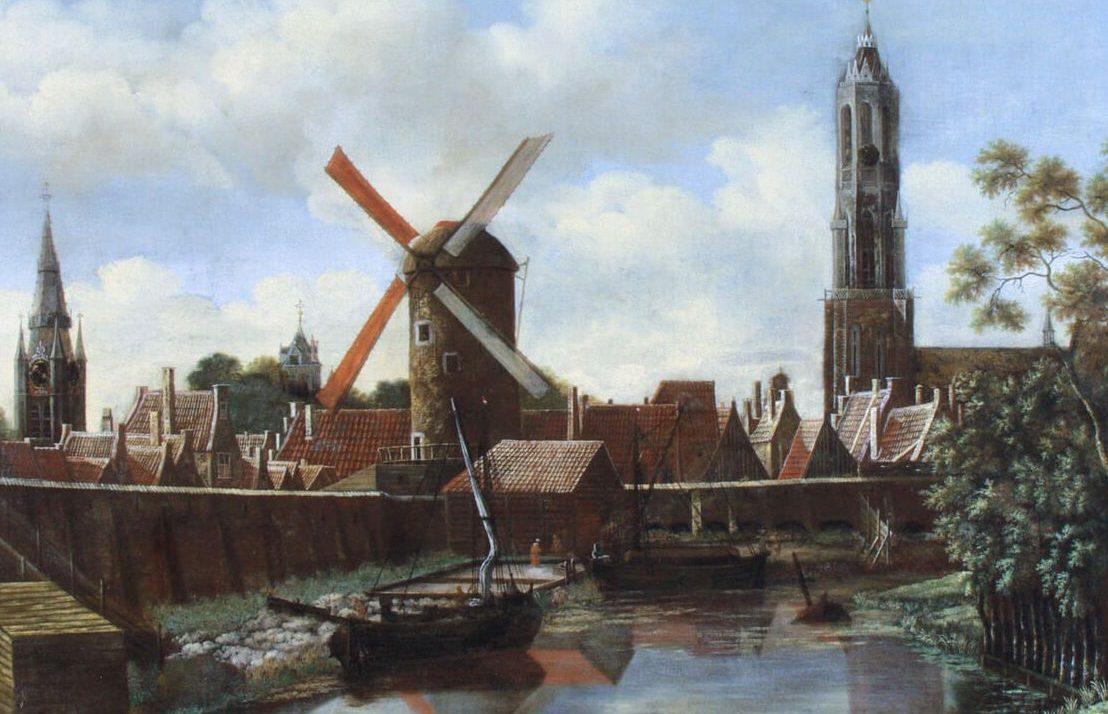 V Evropě v průběhu staletí vyrostou desetitisíce větrných mlýnů.