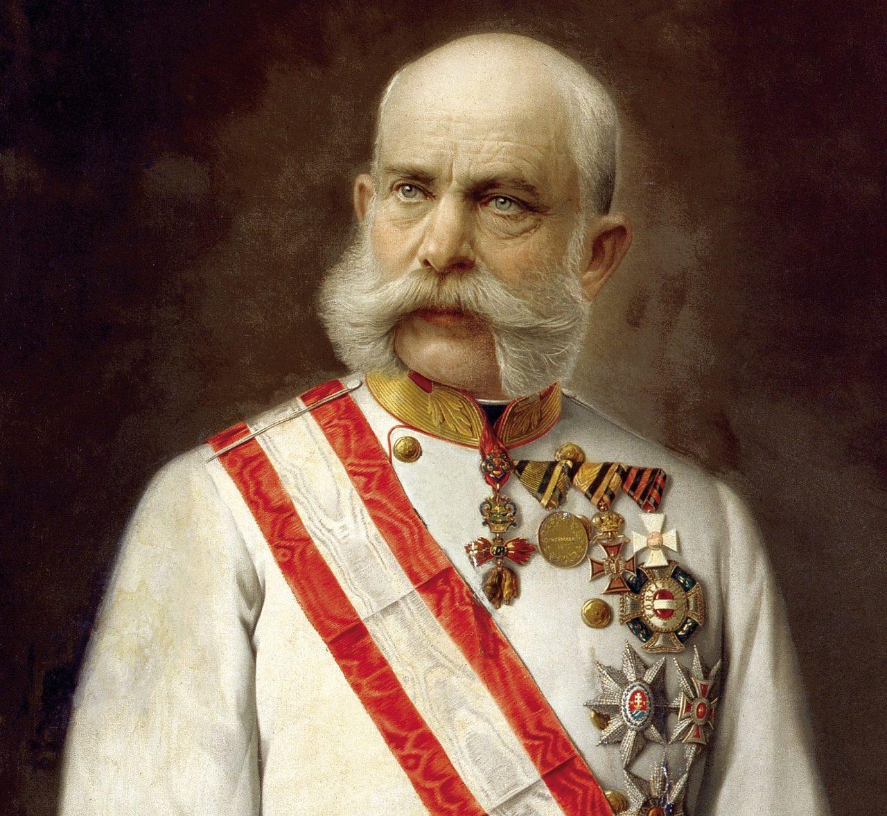 František Josef I. se z výborného nápadu raduje předčasně.