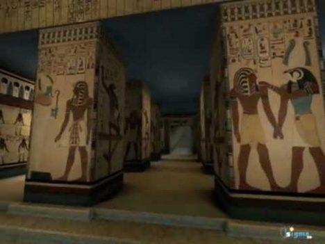 Interiér hrobky zdobí překrásná výzdoba. Ta v tunelu však není dokončená. Proč?
