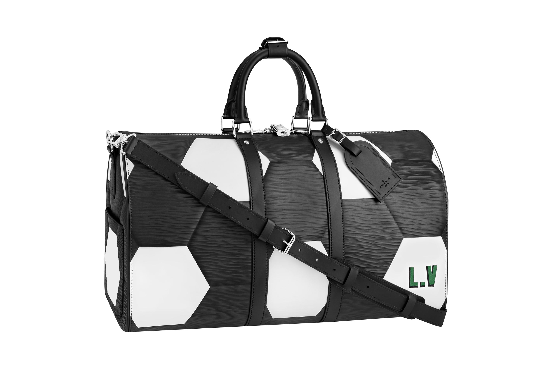Taška s designem fotbalového míče v luxusním podání