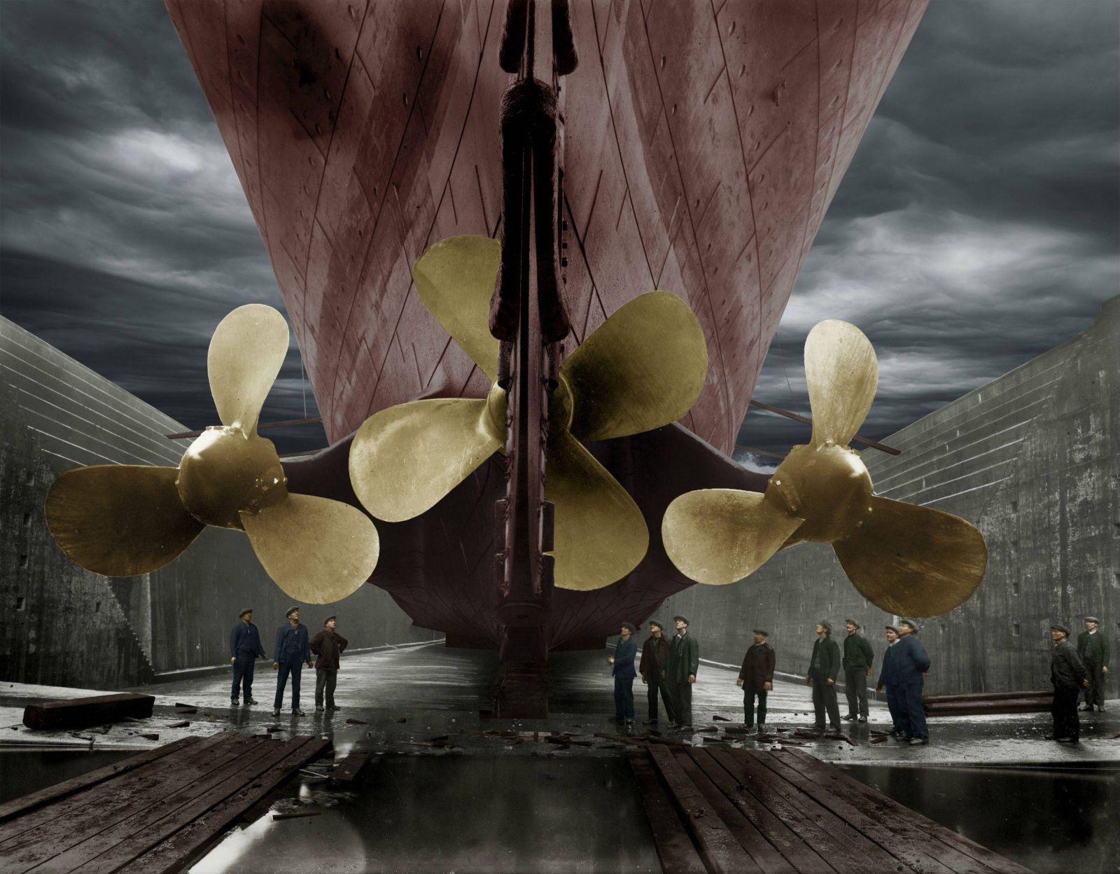 Ressel zdokonalil tzv. Archimédův šroub, jehož nákres zhotovil již Leonardo da Vinci.
