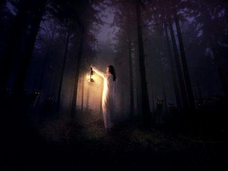 V temných lesích se podle našich předků lidé nemuseli obávat pouze divé zvěře ale i různých strašidel. Šlo pouze o iracionální strach?